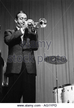 James, Harry, 15.3.1916 - 5.7.1983, US musician, (jazz), half length, playing trumpet, during performance, 1950s, - Stock Photo