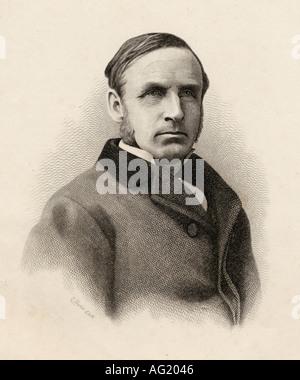 John Morley, 1st Viscount Morley of Blackburn,1838 -1923.  British Liberal statesman, writer and newspaper editor. - Stock Photo
