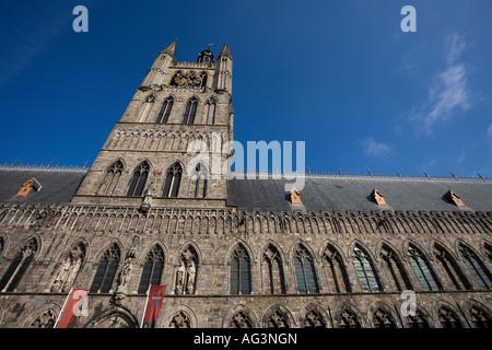 Cloth Hall Ypres Belgium - Stock Photo