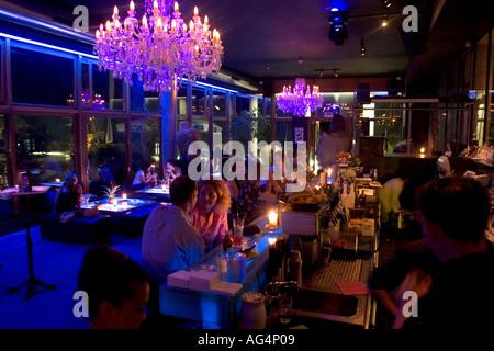 indochine restaurant and bar on neuemuehlen 11 altona hamburg germany stock photo royalty free. Black Bedroom Furniture Sets. Home Design Ideas