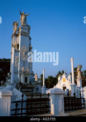 India Goa Assolna Christ the King Monument - Stock Photo