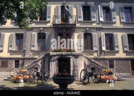 AJ16159, Vevey, Switzerland, Vaud - Stock Photo