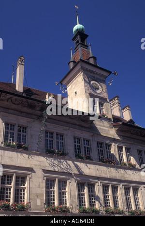 AJ16268, Switzerland, Lausanne, Vaud - Stock Photo