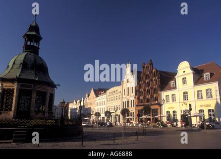AJ17169, Germany, Wismar, Europe, Mecklenburg-Pomerania - Stock Photo