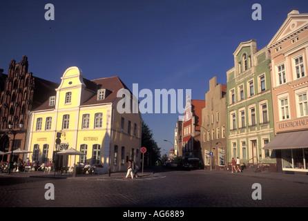 AJ17170, Germany, Wismar, Europe, Mecklenburg-Pomerania - Stock Photo