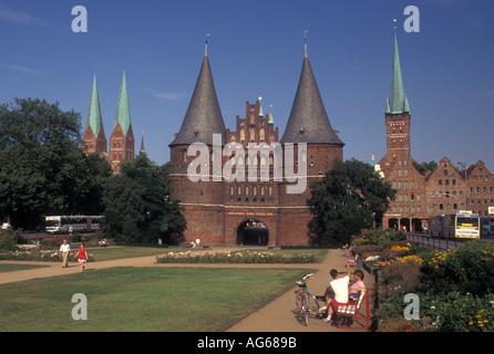 AJ17188, Lubeck, Germany, Schleswig-Holstein, Europe - Stock Photo