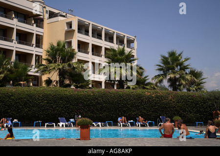 Hotel nettuno catania sicily italy chambermaid with - Hotels in catania with swimming pool ...