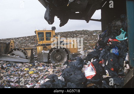Ferry Road Landfill Site Cardiff Wales UK SB010 - Stock Photo