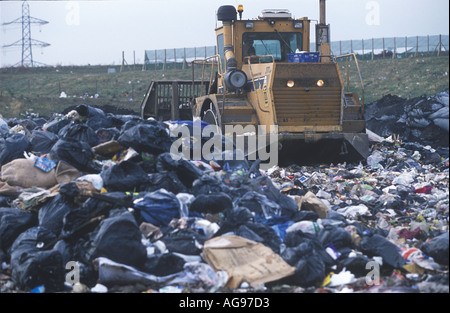 Ferry Road Landfill Site Cardiff Wales UK SB002 - Stock Photo