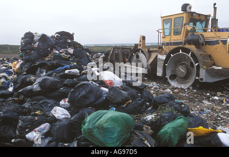 Ferry Road Landfill Site Cardiff Wales UK SB003 - Stock Photo