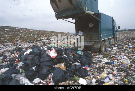 Ferry Road Landfill Site Cardiff Wales UK SB006 - Stock Photo