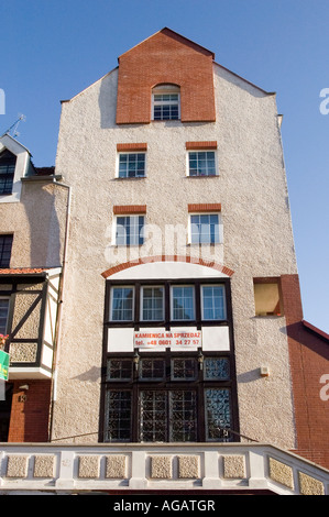 FOR SALE Modern stylised architecture in Elblag Old Town, Poland building house - Stock Photo