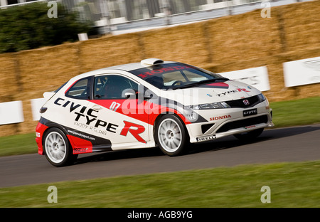 2007 Honda Civic Type R at the 2007 Goodwood Festival of Speed, Sussex, UK. - Stock Photo