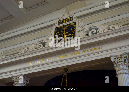 Kahal Kadosh Beth Elohim Synagogue Charleston South Carolina - Stock Photo
