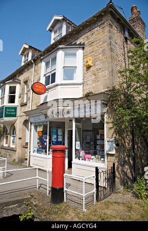 Country Post Office in Thornton le Dale North Yorkshire UK - Stock Photo