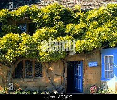GB - WORCESTERSHIRE:  Bed & Breakfast in the Cotsworld Village of Broadway - Stock Photo