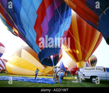 USA - NEVADA:  Great Reno Balloon Race - Stock Photo