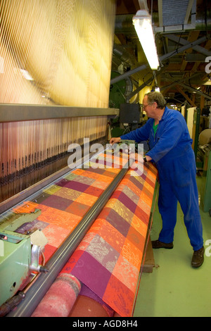 textile loom in the garnier thiebaut factory at gerardmer france stock photo royalty free. Black Bedroom Furniture Sets. Home Design Ideas