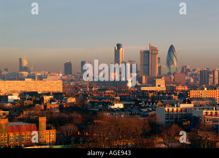 View of London - Stock Photo