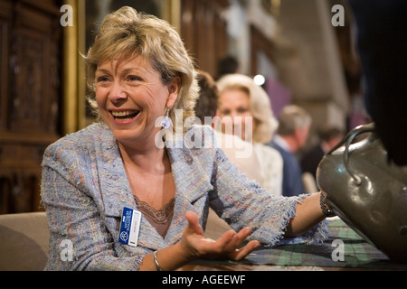 Hilary Kay. Antiques Roadshow. Arundel Castle 2006. BBC television - Stock Photo