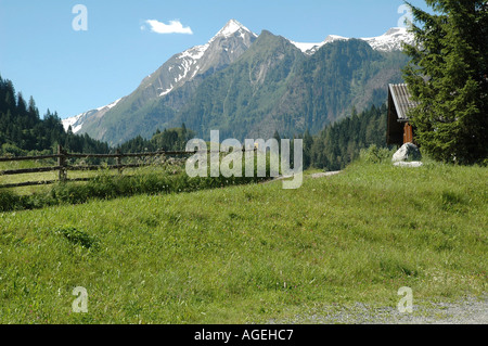 Kaprun Austria Alpine scenery - Stock Photo