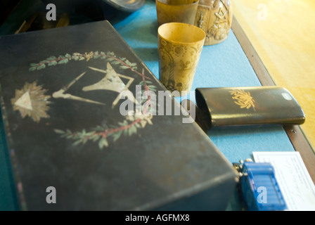 PICTURE CREDIT DOUG BLANE Inside a masonic lodge - Stock Photo
