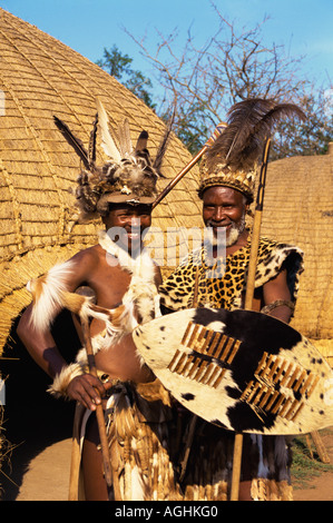 South Africa Simunye Zulu Warriors - Stock Photo