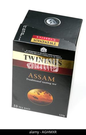 Assam Tea - Stock Photo