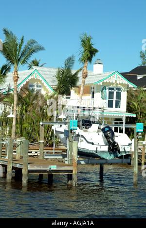 Captiva Island on Pine Island Sound SW Florida fl USA - Stock Photo