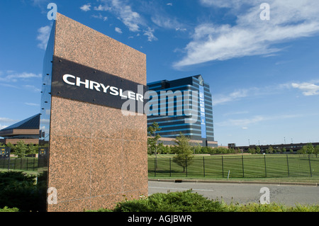 chrysler world headquarters auburn hills michigan usa. Black Bedroom Furniture Sets. Home Design Ideas