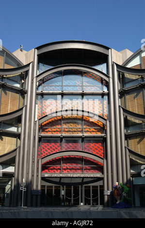Musee d Art Moderne et d Art Contemporain Nice France - Stock Photo