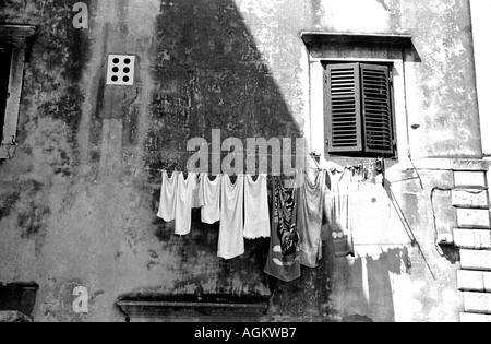 Hung Out to Dry - Stock Photo