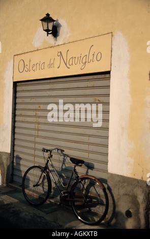 Osteria del Naviglio, Robecco, Milan - Stock Photo