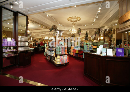 interior of Fortnum and Mason piccadilly London - Stock Photo