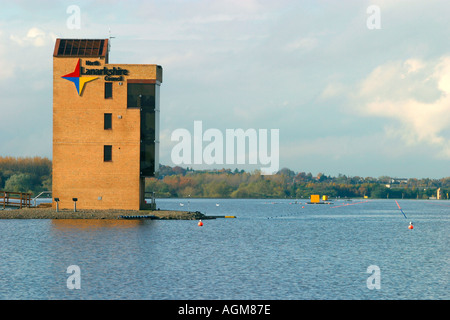 National Rowing Centre Strathclyde Park Motherwell Scotland - Stock Photo