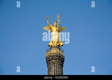 Statue of the Roman victory goddess Viktoria - in the vernacular Goldelse mentioned - on the victory column at the large