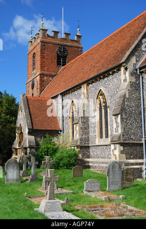 'St.James the Less' Church, Pangbourne, Berkshire, England, United Kingdom - Stock Photo
