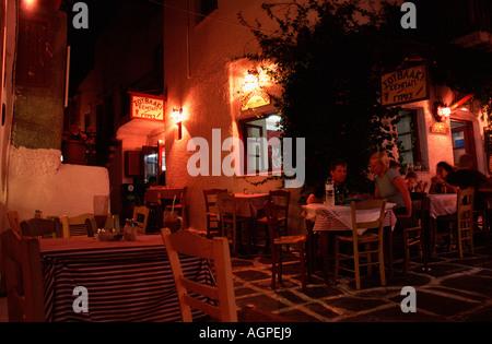 Restaurant / Naoussa - Stock Photo