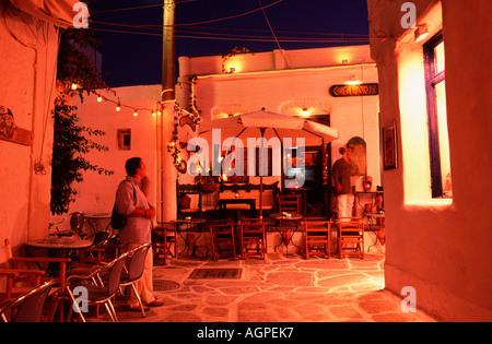 Lane / Naoussa / Gasse - Stock Photo