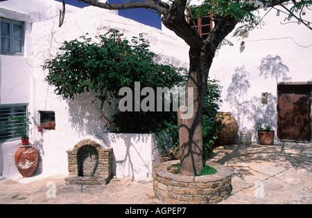 Lane / Naxos / Gasse - Stock Photo