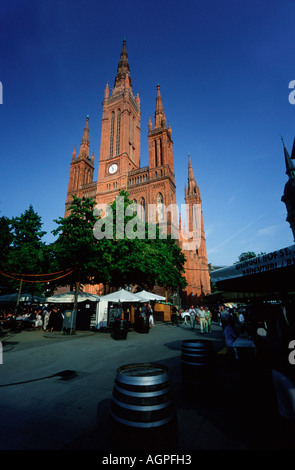 Market Church / Wiesbaden / Marktkirche - Stock Photo