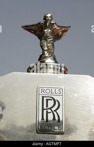 A Rolls Royce Vintage Car Auto World Vintage Car Museum Stock