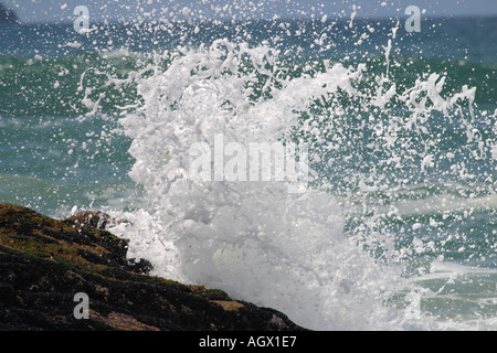 Ocean Splash - Stock Photo