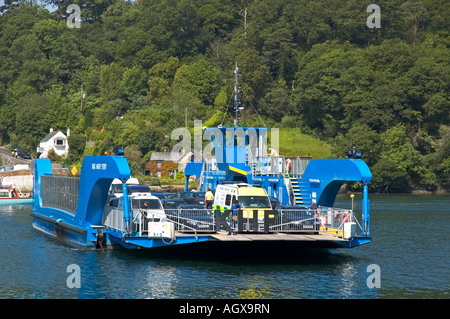 the king harry ferry,cornwall,england - Stock Photo