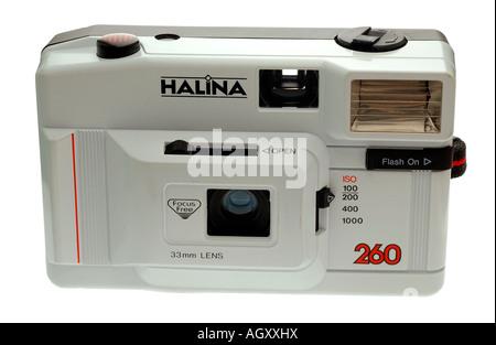 35mm Compact Film Camera - Stock Photo