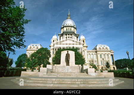 Springfield Illinois State Capitol Building - Stock Photo