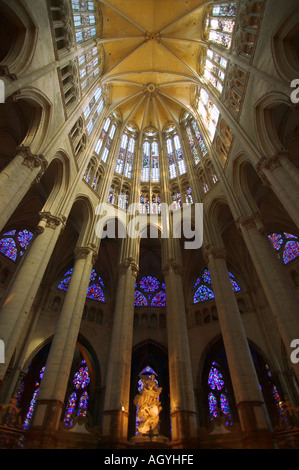 France - Beauvais cathedral in Picardy - Stock Photo