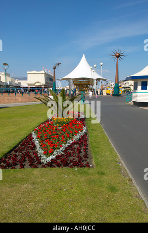 Floral displays Southport Merseyside - Stock Photo