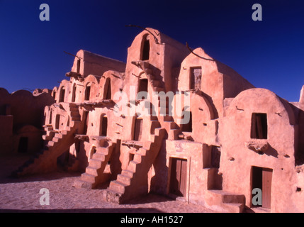 Tunisia Tataouine Ksar Ouled Soultane - Stock Photo