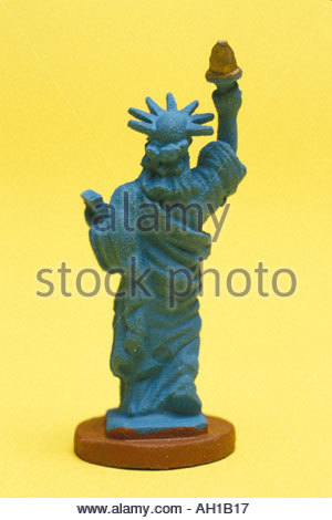 Statue of Liberty figurine - Stock Photo